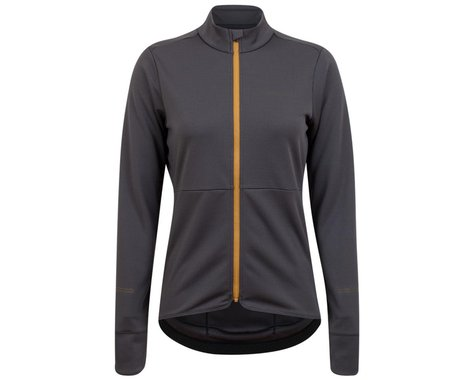 Pearl Izumi Women's Quest Thermal Long Sleeve Jersey (Dark Ink/Toffee) (XS)