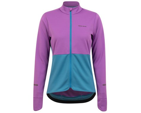 Pearl Izumi Women's Quest Thermal Long Sleeve Jersey (Lupine/Lagoon) (XS)