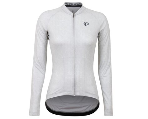 Pearl Izumi Women's Attack Long Sleeve Jersey (Cloud Grey Stamp) (XS)