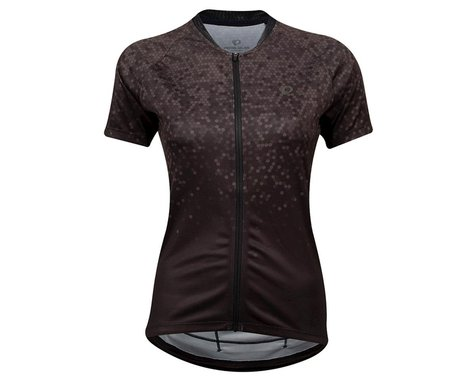 Pearl Izumi Women's Sugar Short Sleeve Jersey (Black/Phantom Hex)