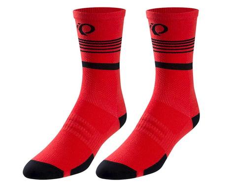 Pearl Izumi Elite Tall Sock (Rogue Red Diffuse)