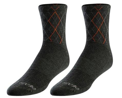 Pearl Izumi Merino Wool Socks (Forest/Flame Crossing)