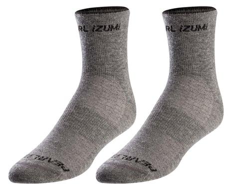 Pearl Izumi Merino Wool Socks (Smoked Pearl Core) (L)