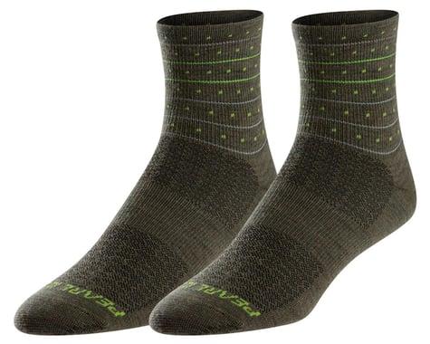 Pearl Izumi Merino Wool Socks (Forest Stoke) (XL)