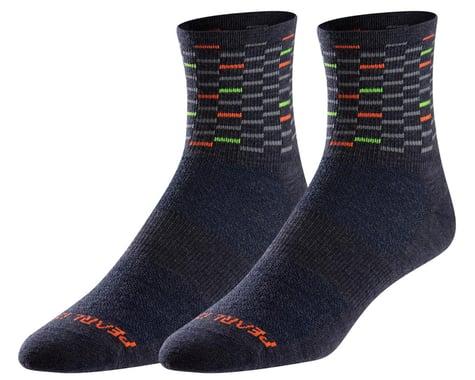 Pearl Izumi Merino Wool Socks (Navy Dash) (XL)