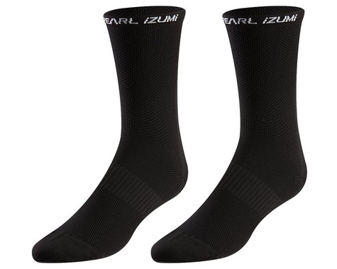 Pearl Izumi Elite Tall Socks (Black) (XL)