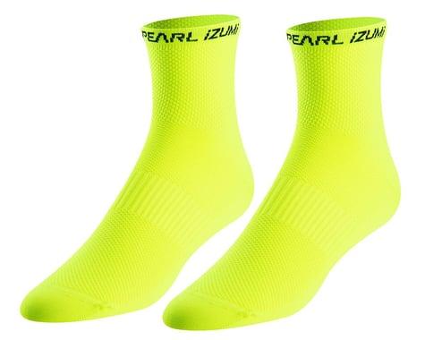 Pearl Izumi Elite Tall Socks (Screaming Yellow) (L)