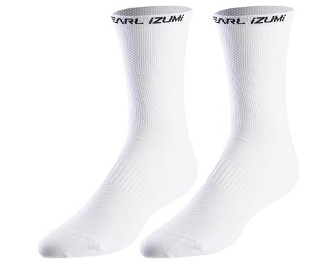 Pearl Izumi Elite Tall Socks (White) (L)