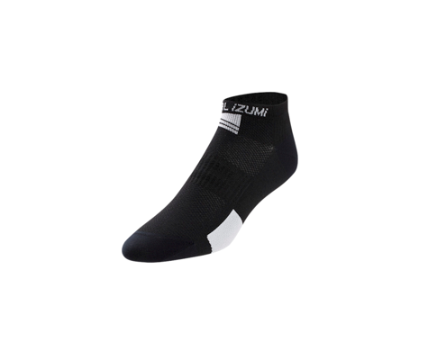 Pearl Izumi Women's Elite Low Sock (Black/White)