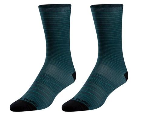 Pearl Izumi Women's PRO Tall Socks (Pine/Malachite Frequency) (S)