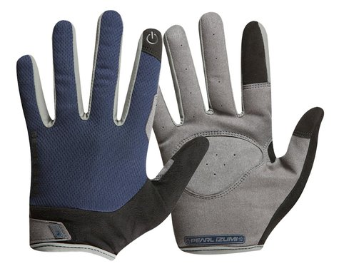 Pearl Izumi Attack Full Finger Gloves (Navy) (S)