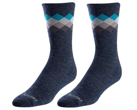 Pearl Izumi Merino Thermal Wool Socks (Navy/Teal Solitare)