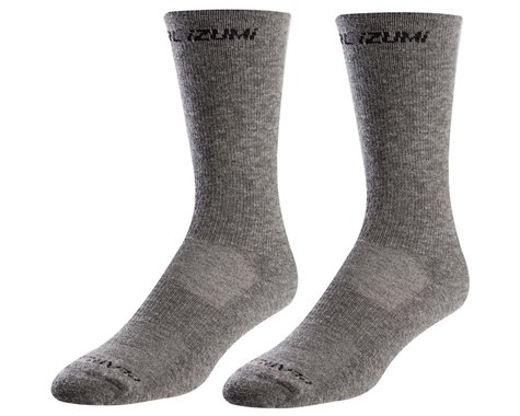 Pearl Izumi Merino Thermal Wool Socks (Smoked Pearl Core) (S)