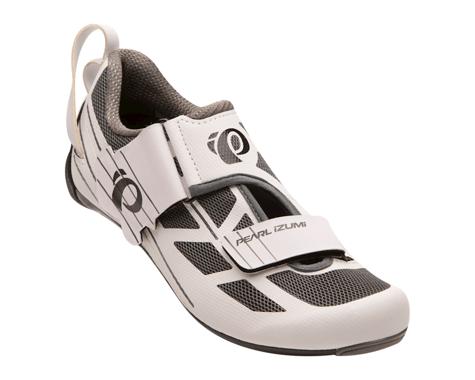 Pearl Izumi Women's Tri Fly Select v6 Tri Shoes (White/Shadow Grey) (43)