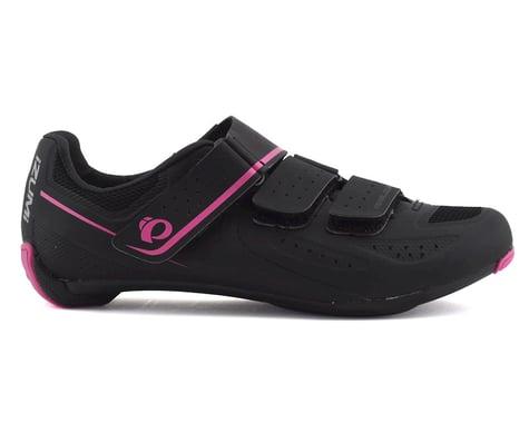 Pearl Izumi Women's Select V5 Studio Road Shoe (Black/Pink)