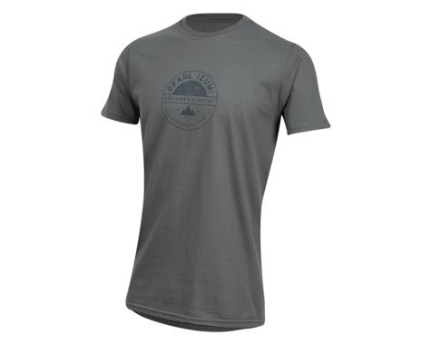 Pearl Izumi Organic Cotton T-Shirt (Stamp Charcoal)
