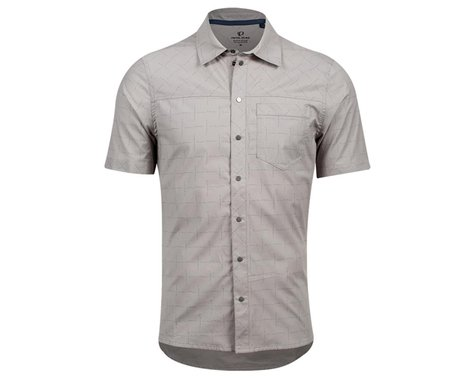 Pearl Izumi Rove Short Sleeve Shirt (Wet Weather Ride More Do More)