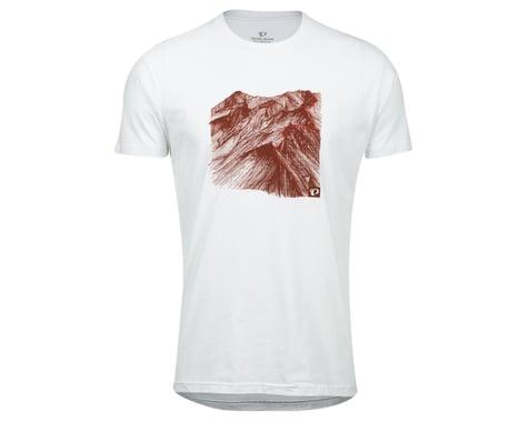 Pearl Izumi Go-To Tee Shirt (White Mountain) (XL)