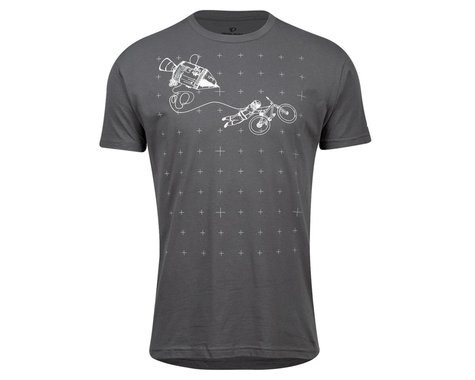 Pearl Izumi Go-To Tee Shirt (Heavy Metal Space Grab) (2XL)