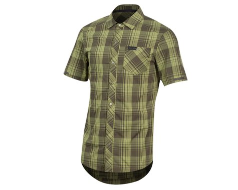 Pearl Izumi Short Sleeve Buttom-up (Forest Plaid)