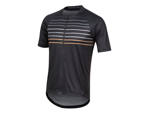 Pearl Izumi Canyon Graphic Short Sleeve Jersey (Black/Berm Brown Slope)