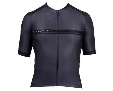 Pedal Mafia Men's Core Short Sleeve Jersey (Charcoal) (M)