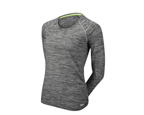 Performance Women's Sport Heather Long Sleeve Jersey (Black/Grey)