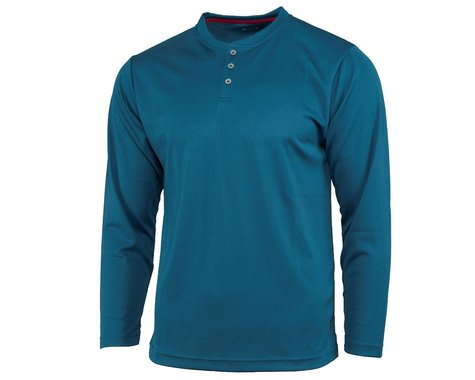 Performance Long Sleeve Club Fed Jersey (Blue) (L)