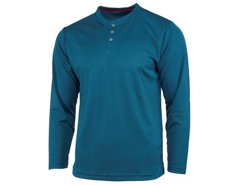 Performance Long Sleeve Club Fed Jersey (Blue) (M)