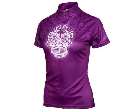 Performance Women's Short Sleeve Jersey (Los Muertos) (L)