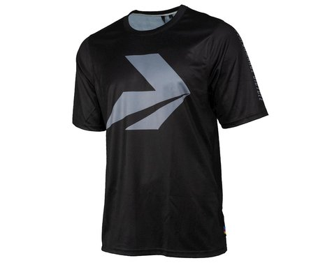 Performance Enduro Sport MTB Short Sleeve Jersey (Black) (S)