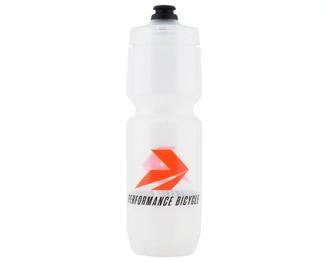 Performance Bicycle Water Bottle w/ MoFlo Lid (Clear) (26oz)