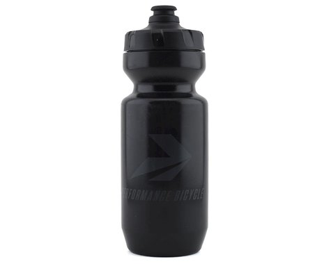 Performance Bicycle Water Bottle w/ MoFlo Lid (Stealth) (22oz)