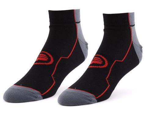 "Performance 1.5"" Speed Socks (Black/Red) (S/M)"