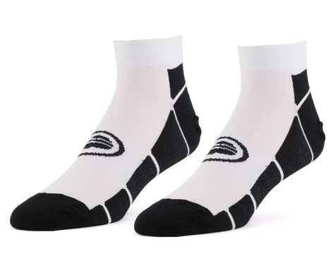 "Performance 1.5"" Speed Socks (White/Black) (L/XL)"