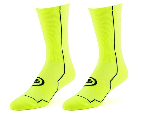 "Performance 8"" Speed Socks (Hi-Vis Yellow) (S/M)"