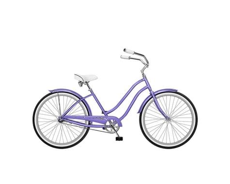 Phat Cycles Daisy Single Speed Step-Through Beach Cruiser - 2017 (Lavendr)