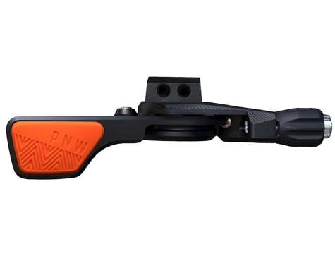 PNW Components Loam Lever Dropper Post Lever Kit (Black/Orange) (I-Spec II)