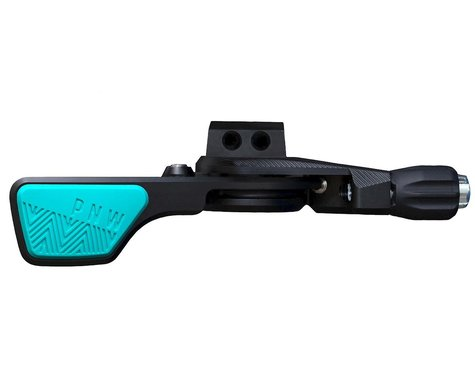 PNW Components Loam Lever Dropper Post Lever Kit (Black/Teal) (22.2mm Clamp)
