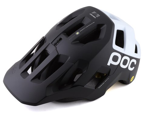 POC Kortal Race MIPS Helmet (Uranium Matte Black/Hydrogen White) (XS/S)