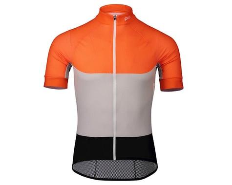 POC Essential Road Light Short Sleeve Jersey (Granite Grey/Zink Orange) (M)