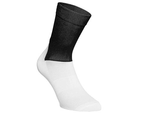 POC Essential Road Sock (Uranium Black/Hydrogen White) (S)