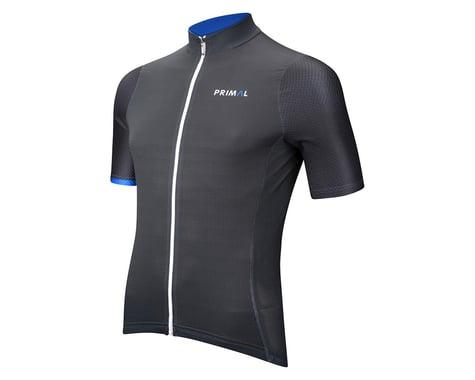 Primal Wear Blu Steel Helix Short Sleeve Jersey (Grey/Blue)