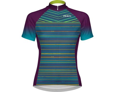 Primal Wear Kismet Women's Cycling Jersey (Blue/Green/Purple)