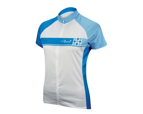 Primal Wear Women's Caprice Short Sleeve Jersey (Blue) (Xlarge)