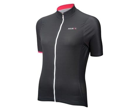 Primal Wear Women's Le Tigra Helix Short Sleeve Jersey (Grey) (Xxlarge)