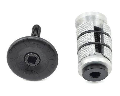 "Shimano Gap Cap & Expander for Carbon Steerers (Short) (UD Carbon) (1-1/8"")"