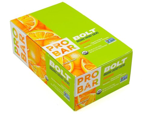 Probar Bolt Organic Energy Chews (Orange) (12   2.1oz Packets)