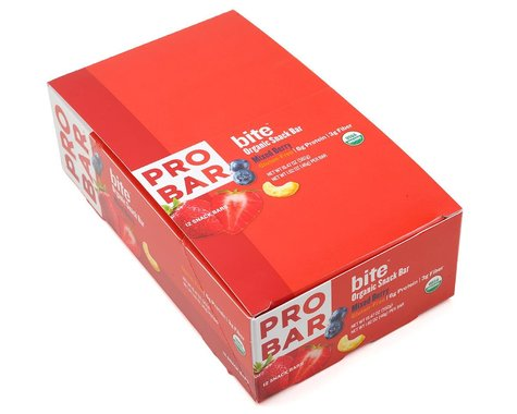 Probar Bite Organic Snack Bar (Mixed Berry) (12 | 1.62oz Packets)