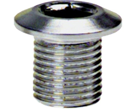 Problem Solvers 8mm Inner Chainring Bolts (Silver) (Alloy)